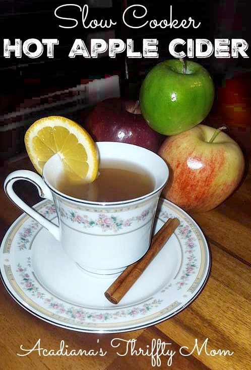 apple cider cup