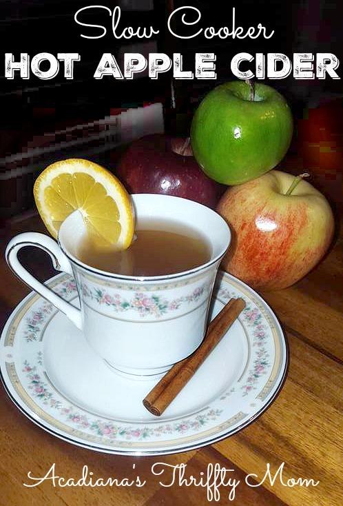 apple cider cup