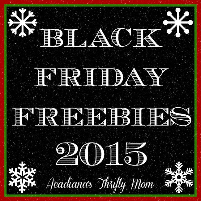 black friday freebies 2015