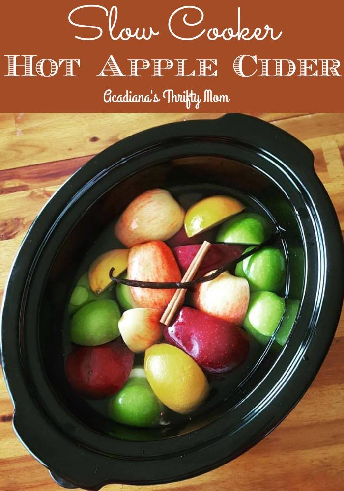 Slow Cooker Hot Apple Cider