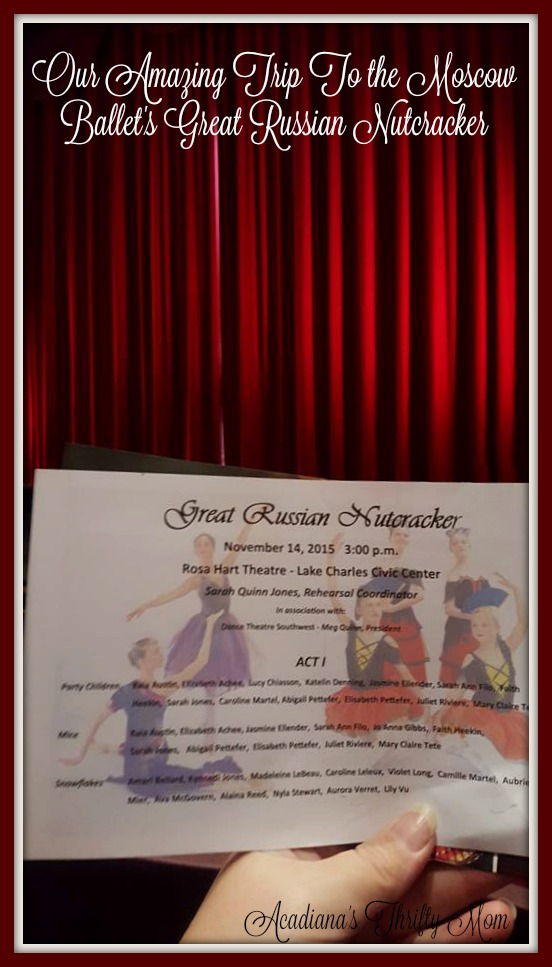 Our Amazing Trip To the Moscow Ballet's Great Russian Nutcracker