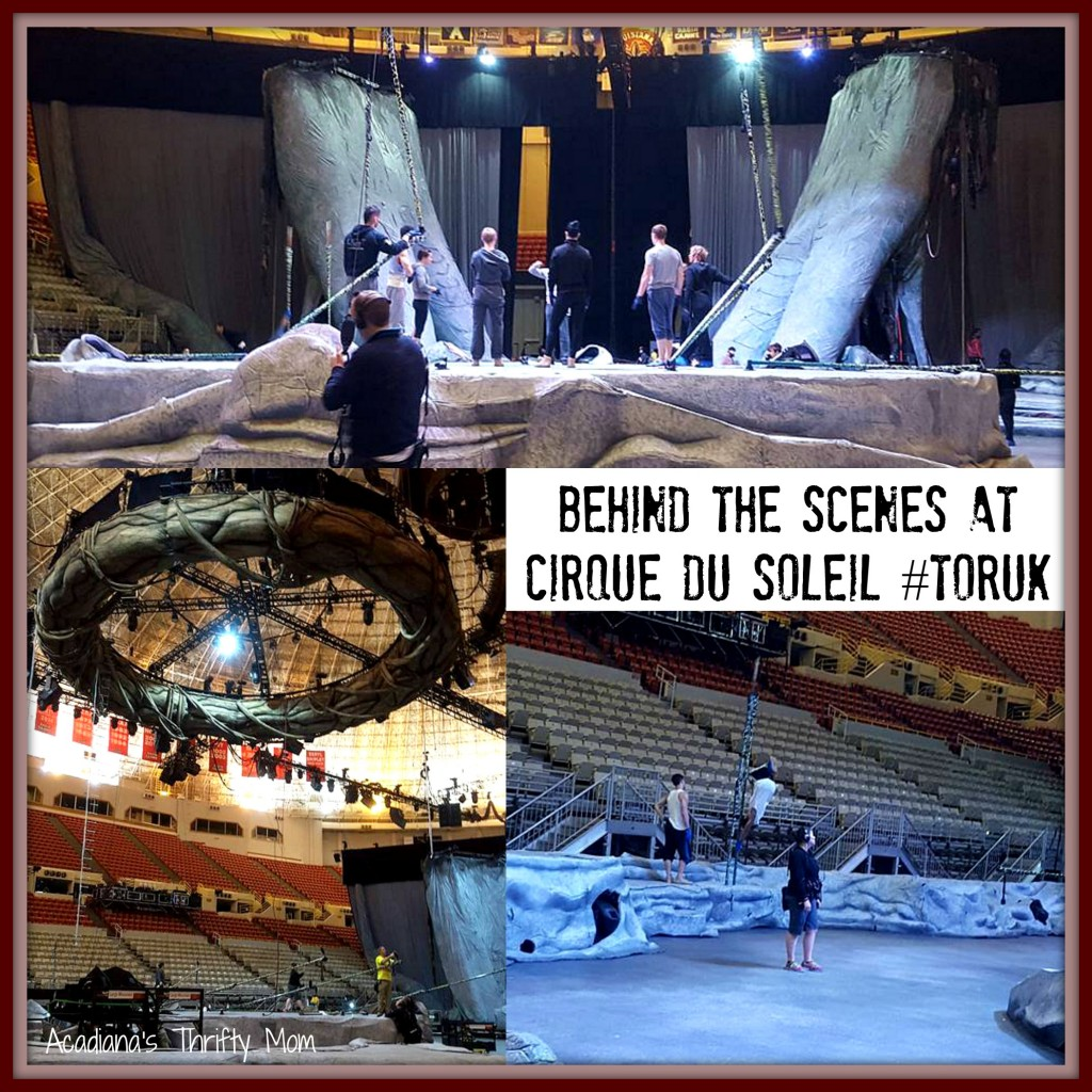 Behind The Scenes At Cirque Du Soleil #Toruk