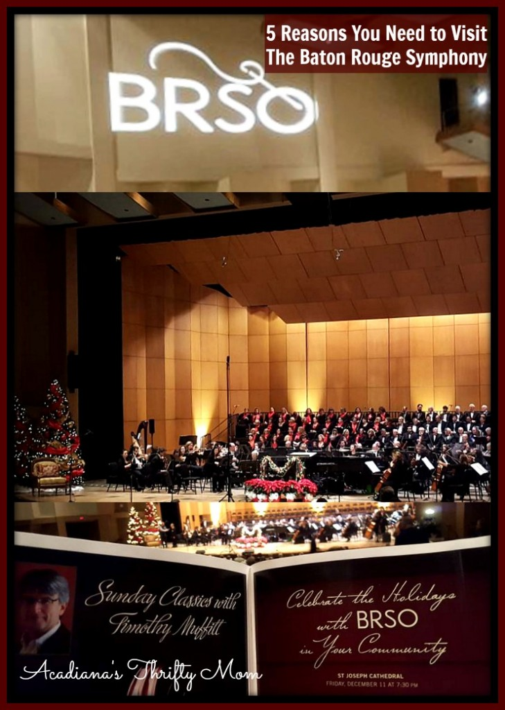 5 Reasons You Need to Visit The Baton Rouge Symphony #BRSO