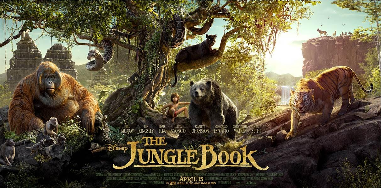 New Clips and Featurette from Disney's The Jungle Book! #JungleBook