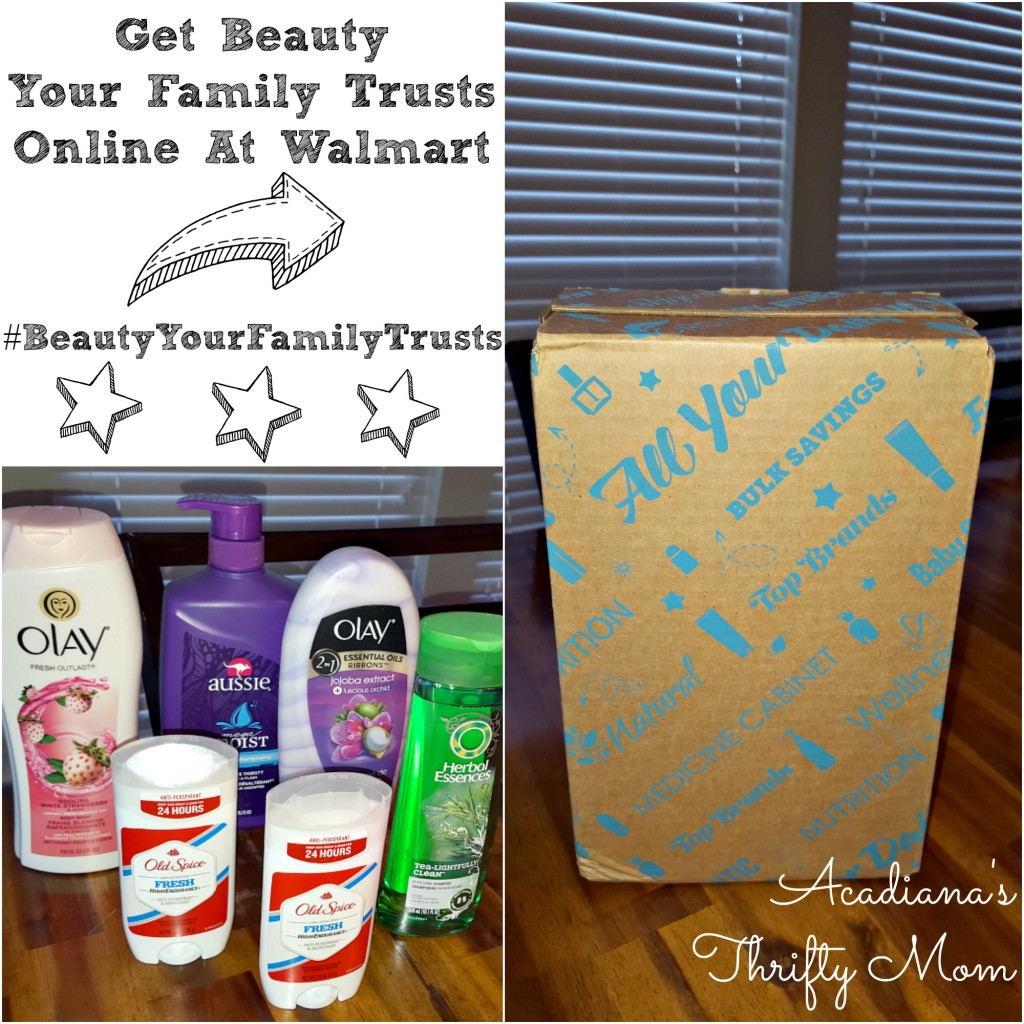 Get Beauty Your Family Trusts Online At Walmart #BeautyYourFamilyTrusts