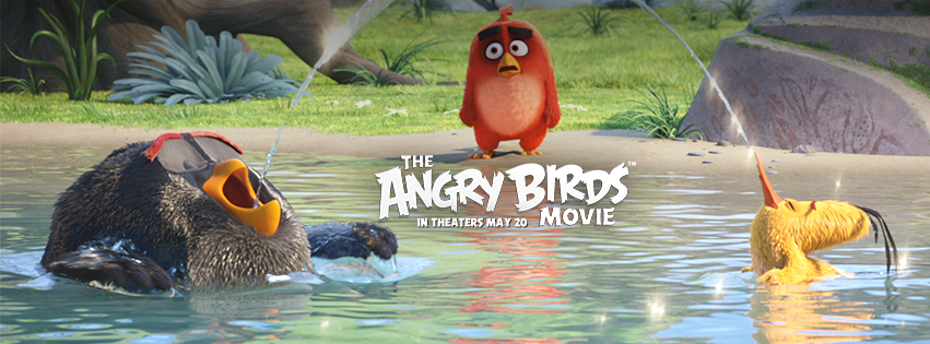 WIN a Family 4 Pack of Tickets to see The Angry Birds Movie #AngryBirdsMovie