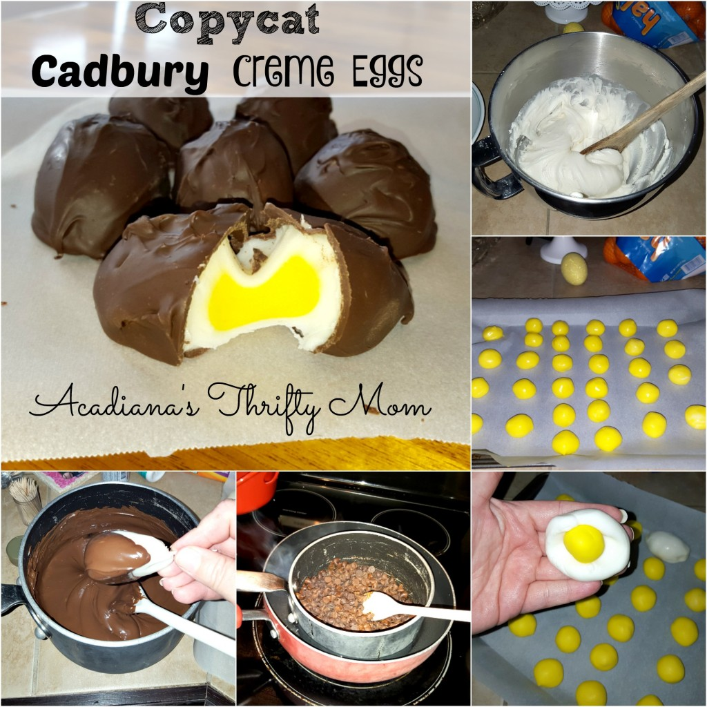 cadbury creme eggs Collage