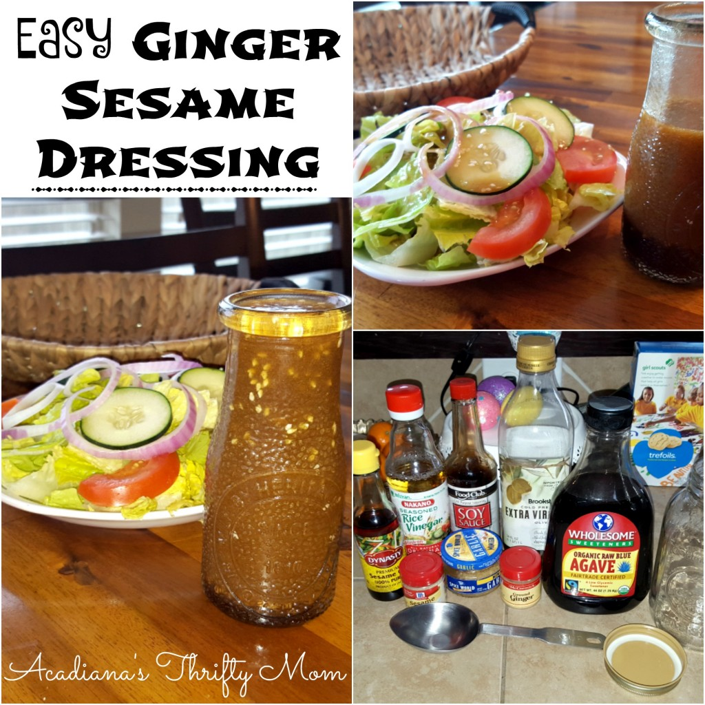 ginger sesame dressing Collage