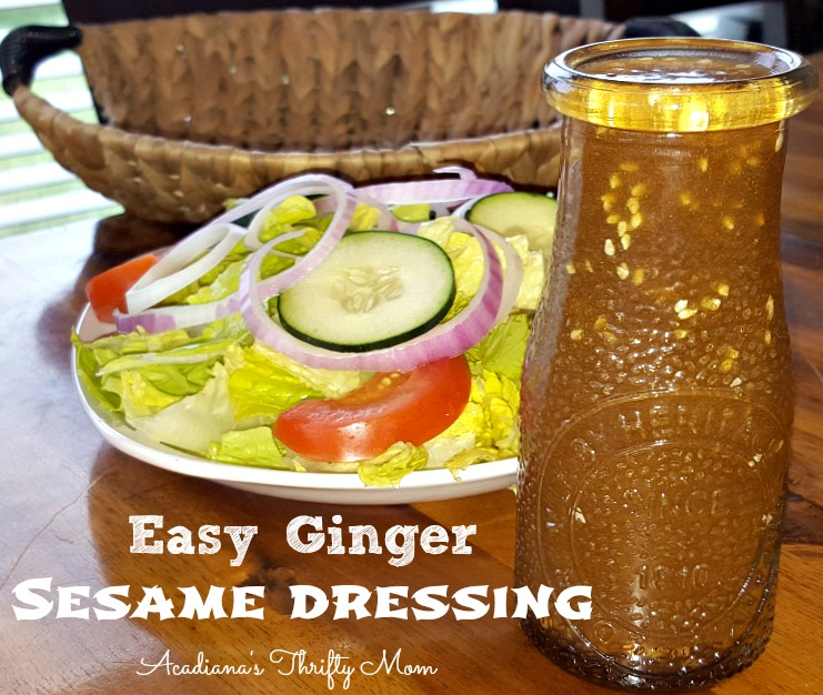 Easy Ginger Sesame Dressing