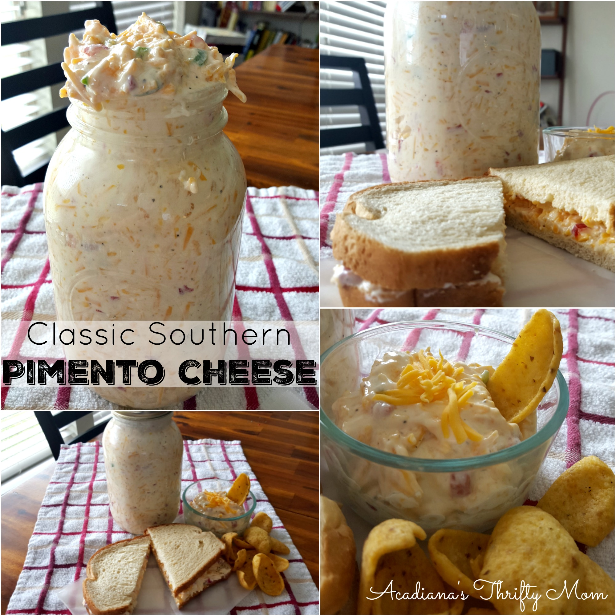 pimento cheese Collage
