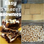 smores brownies Collage