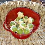 taffy apple grapes