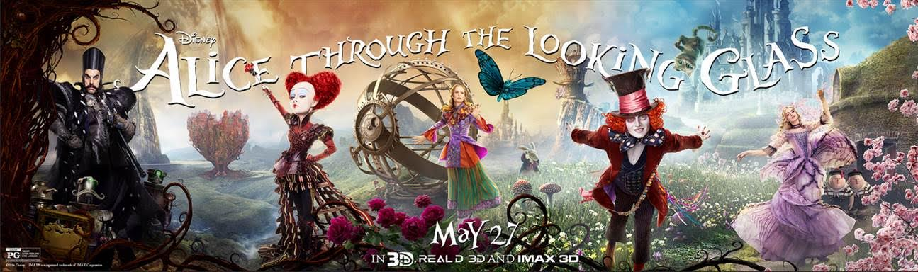 New Through The Looking Glass trailer and Live Chat With Johnny Depp #DisneyAlice