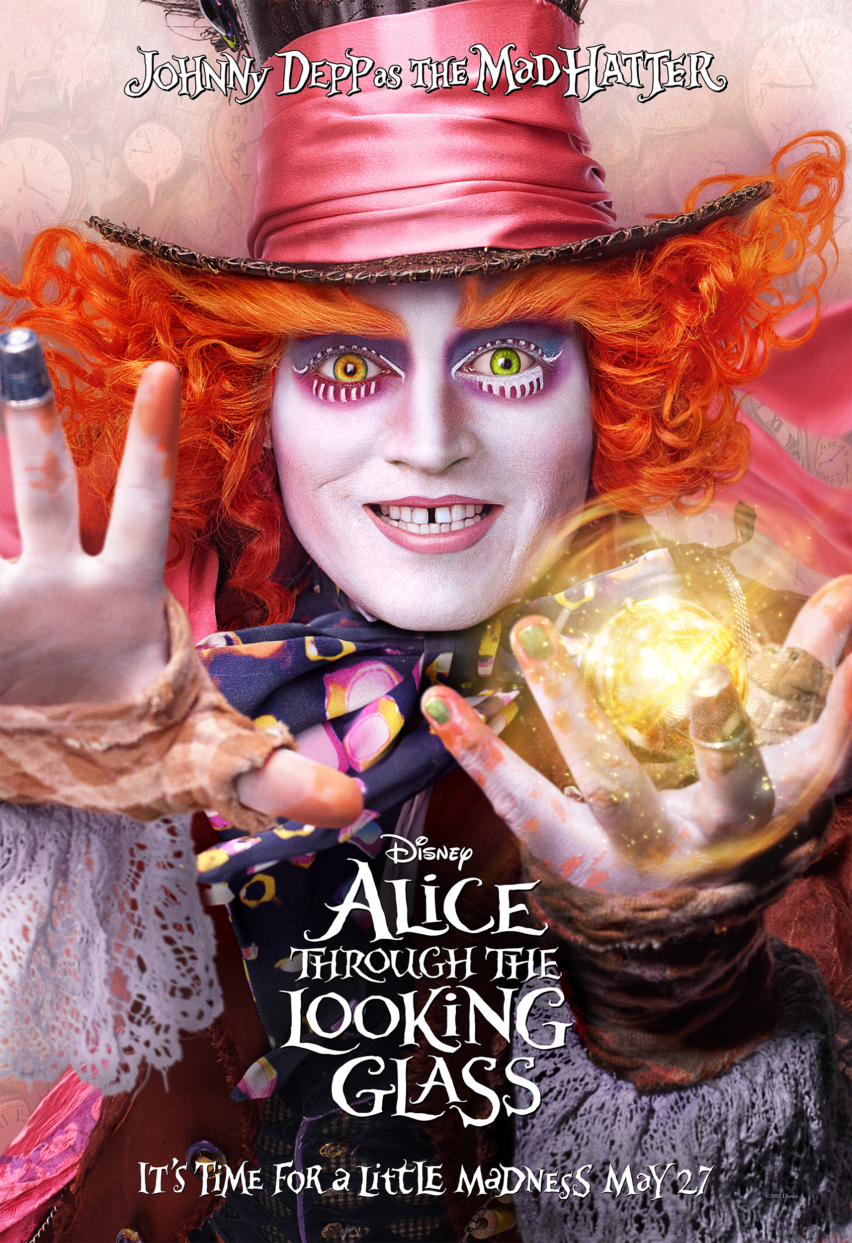 Alice Through The Looking Glass is Now Playing in Theatres Everywhere #ThroughTheLookingGlass
