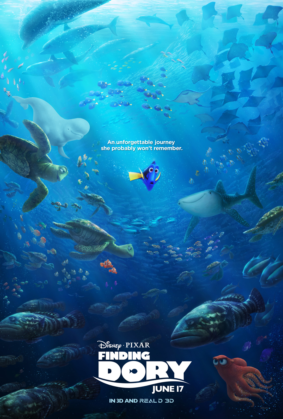 New Trailer for Disney•Pixar's Finding Dory #FindingDory
