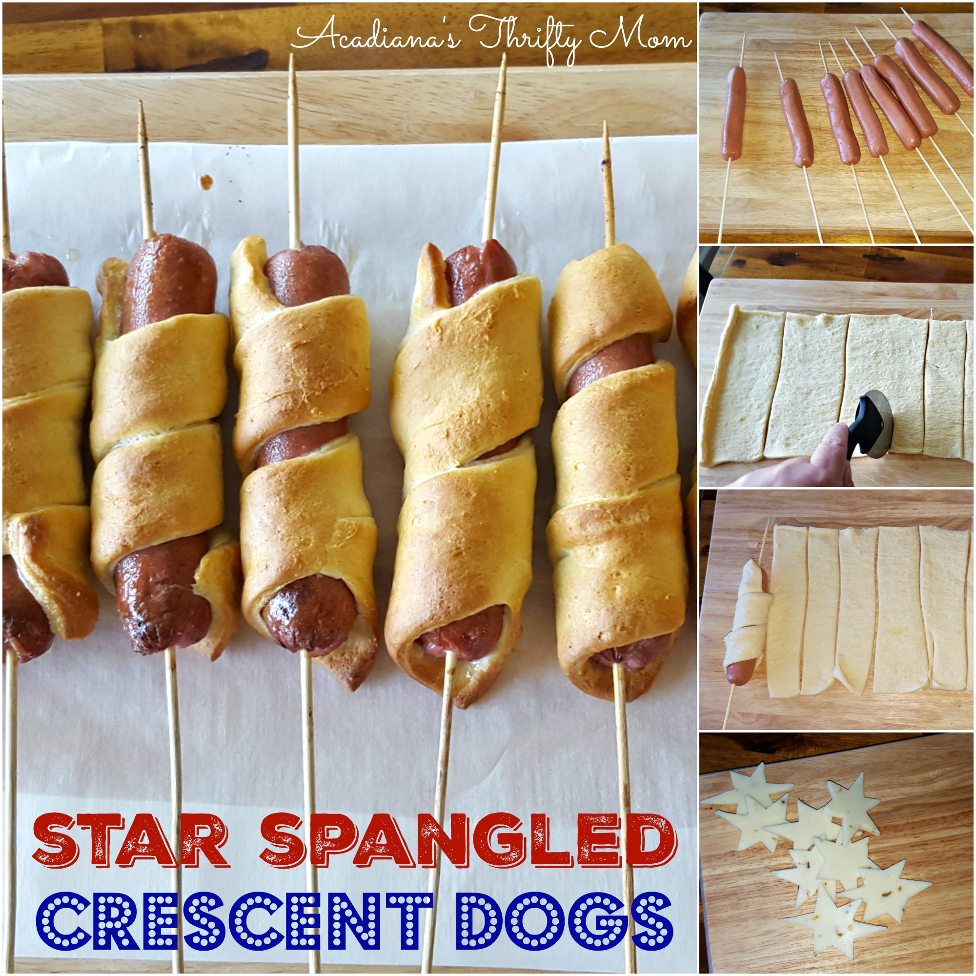 Star Spangled Crescent Dogs