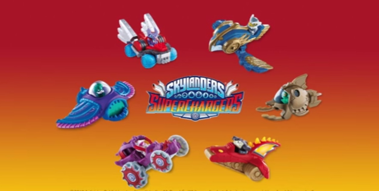 I am so excited to let you know that McDonald's and Skylanders Supercharge Happy Meals Are Here!  Activision and McDonald's are revealing six new toys inspired by Skylanders SuperChargers