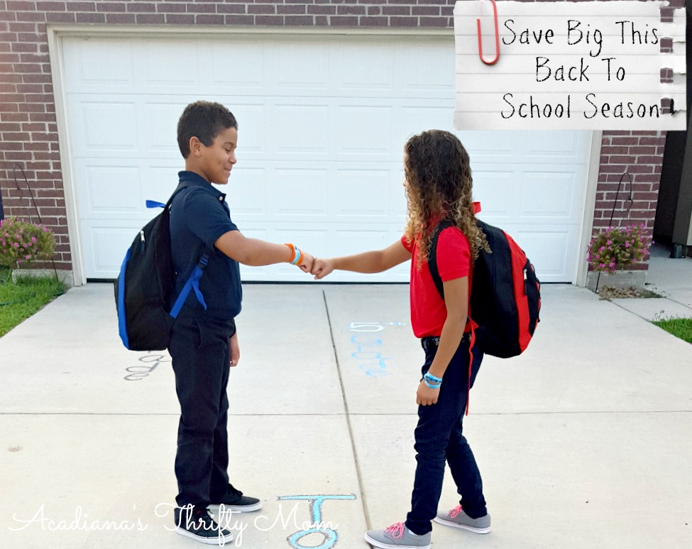 Save Big This Back To School Season