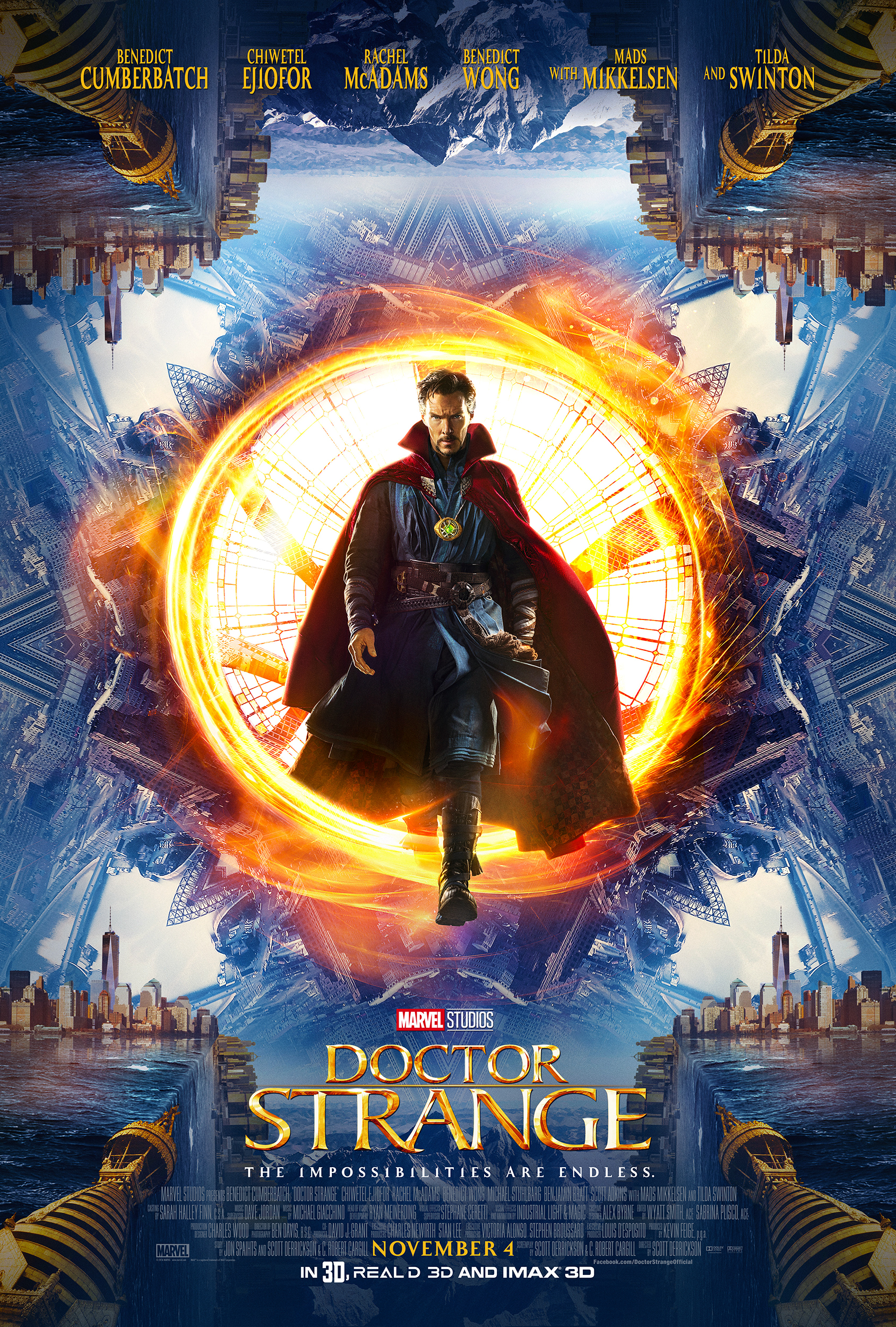 New Poster And Trailer For Marvel's Doctor Strange #DoctorStrange