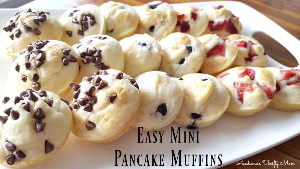 Easy Mini Pancake Muffins