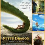petes dragon event poster