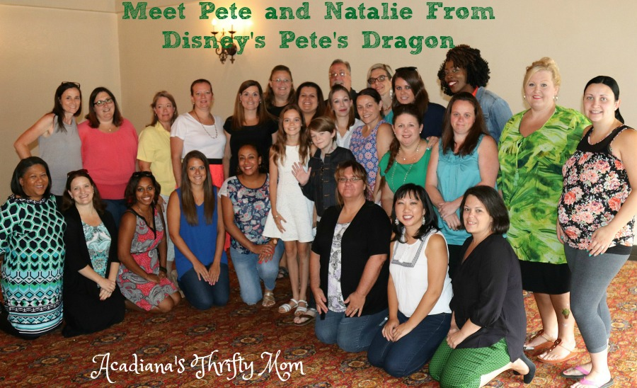 Meet Pete and Natalie From Disney's Pete's Dragon #PetesDragonEvent