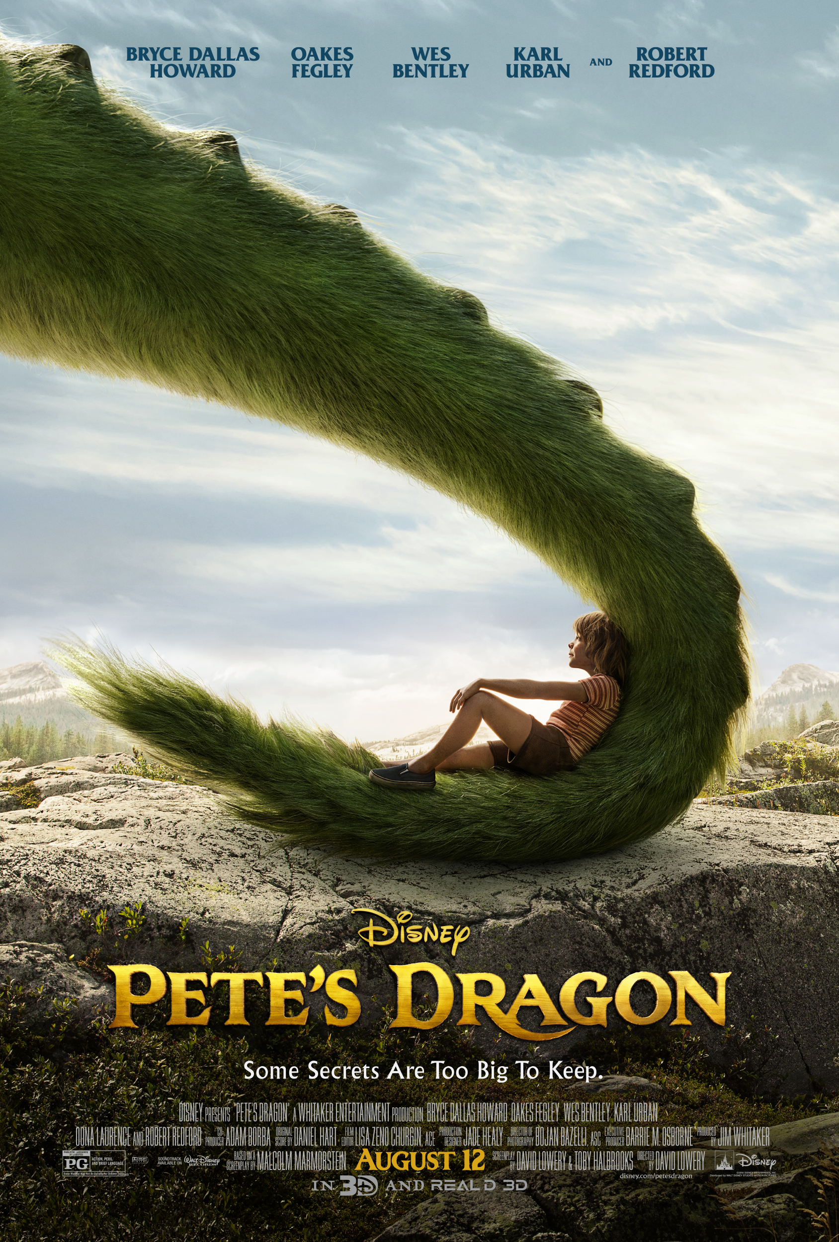 petes dragon poster