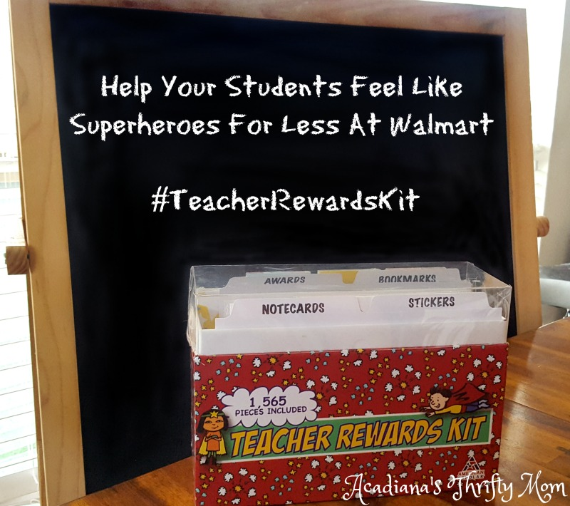 Help Your Students Feel Like Superheroes For Less At Walmart #TeacherRewardsKit