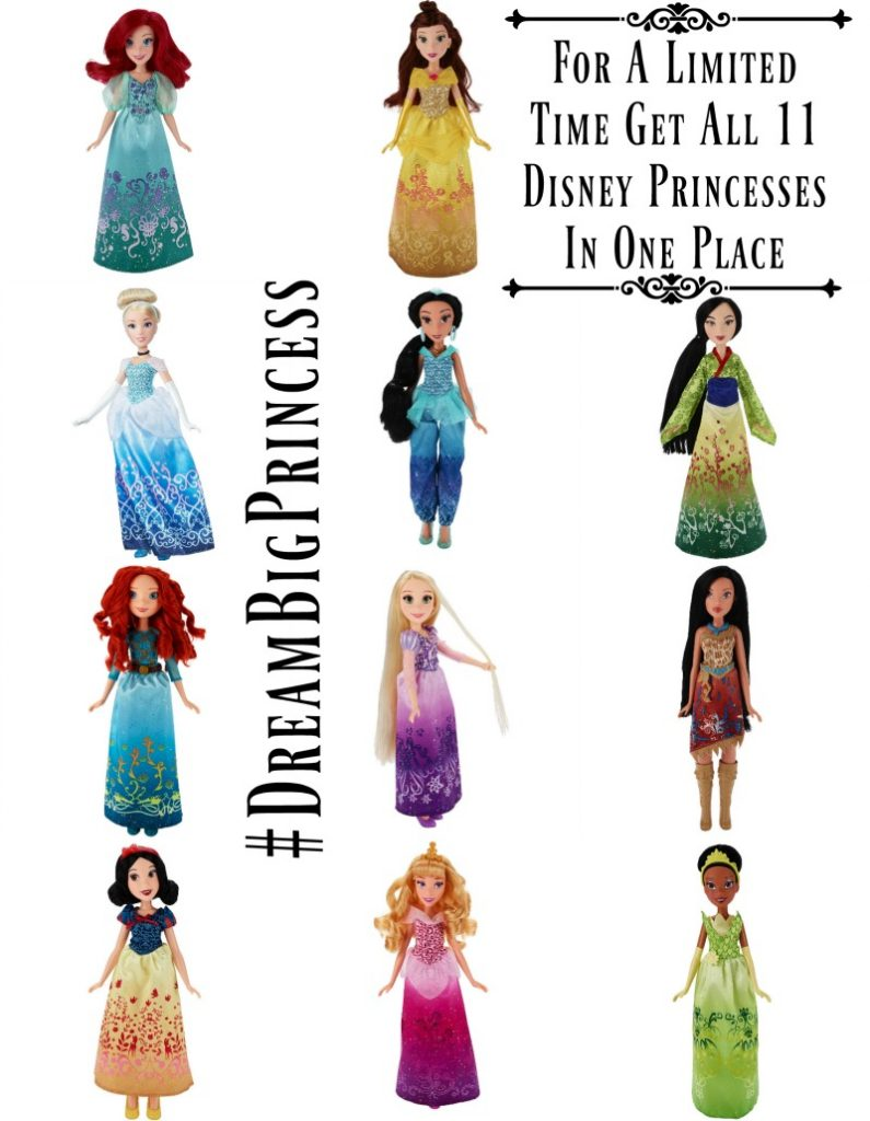 for a limited time get all 11 disney princesses in one place