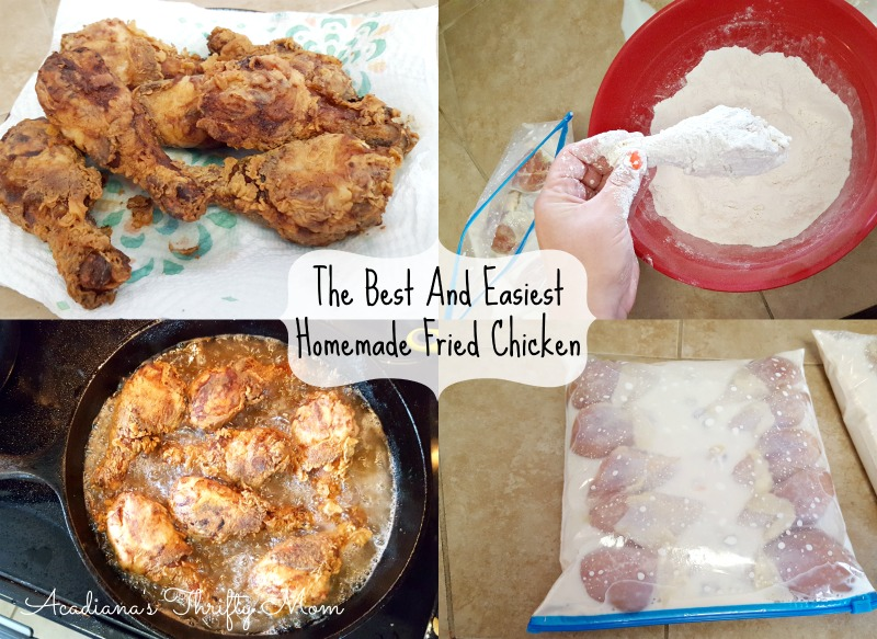 Best And Easiest Homemade Fried Chicken