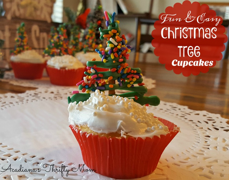 Fun and Easy Christmas Tree Cupcakes