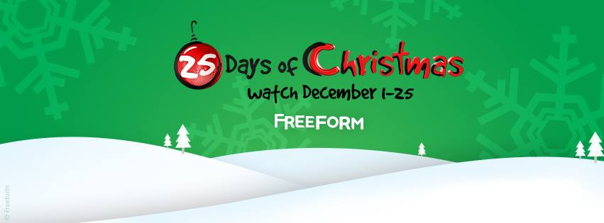 freeforms 25 days of christmas movie schedule 2016