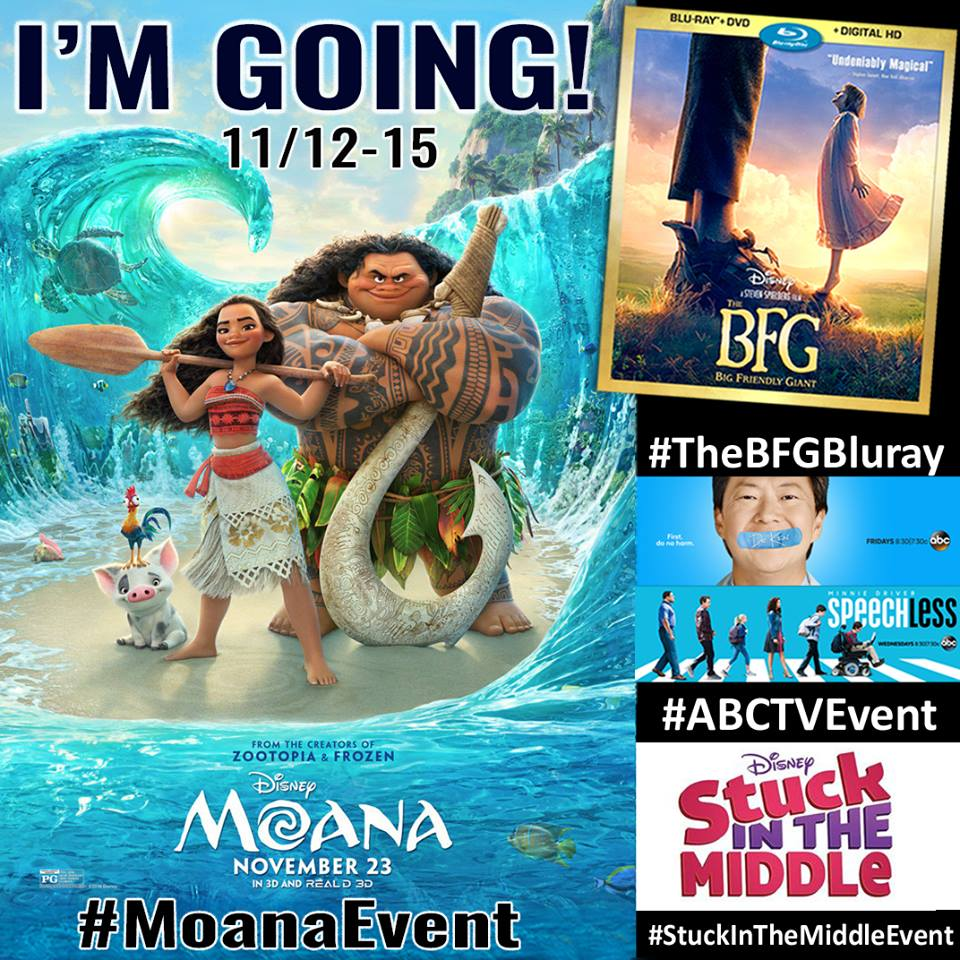 Join Me At The Disney Moana Red Carpet In Los Angeles November 12-15 #MOANAEvent