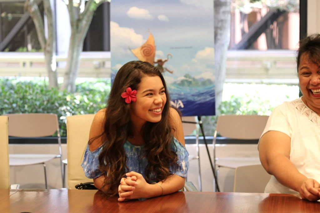 My Exclusive Interview with Disney Moana's Auli'I Cravalho and her mother, Puanani #MOANA