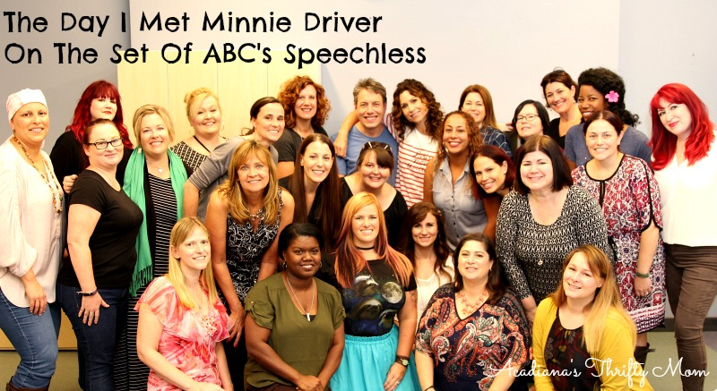 The Day I Met Minnie Driver On The Set Of ABC's Speechless #ABCTVEvent