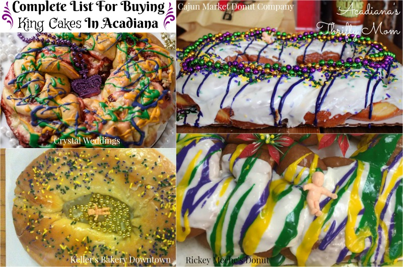 Complete List For Buying King Cakes In Acadiana