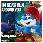 smurfs vday card