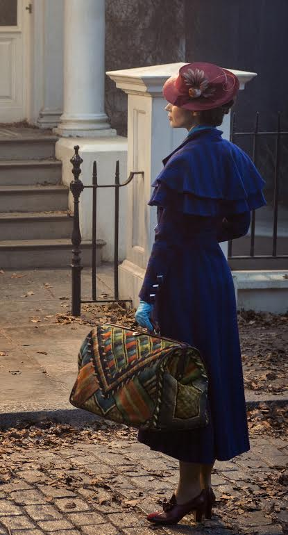 Here Is Your First Look at Emily Blunt as Mary Poppins in Mary Poppins Returns #MaryPoppinsReturns