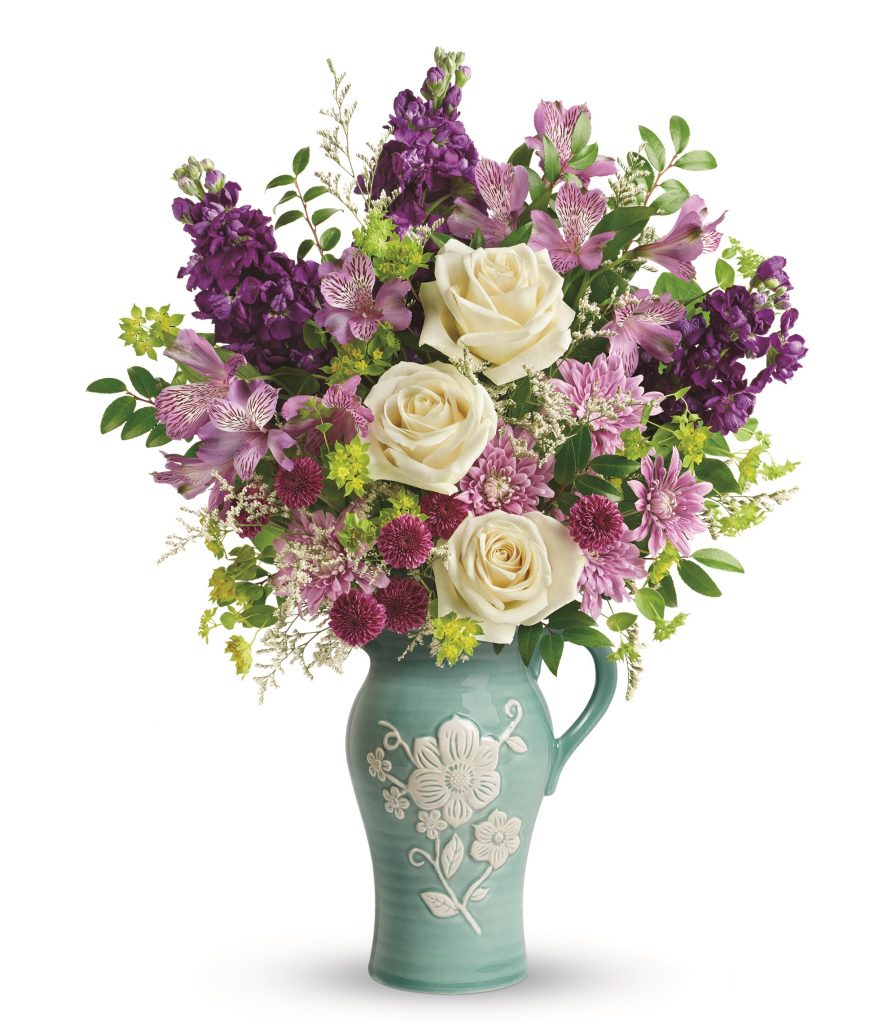 Honor mom this mother 39 s day with a handmade teleflora - Unusual mothers day flowers ...