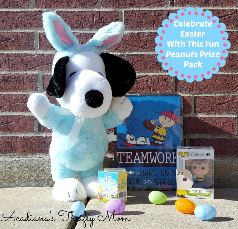 Celebrate Easter With This Fun Peanuts Prize Pack #EasterBeagle