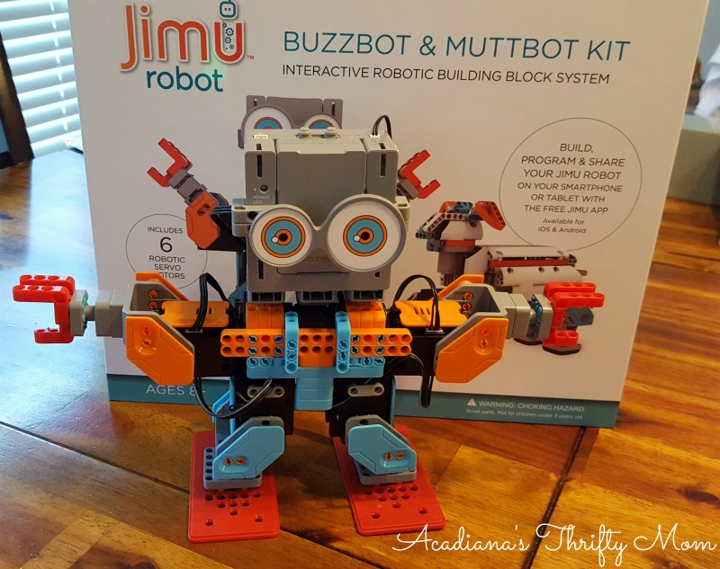 Let Your Kids Learn STEM And Dance With Jimu Buzzbot And Muttbot #Jimu