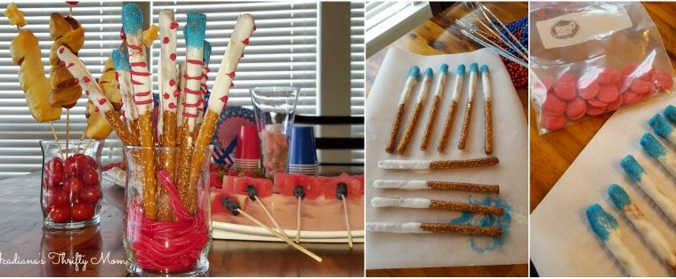 Easy Peasy Firecracker Pretzel Sticks