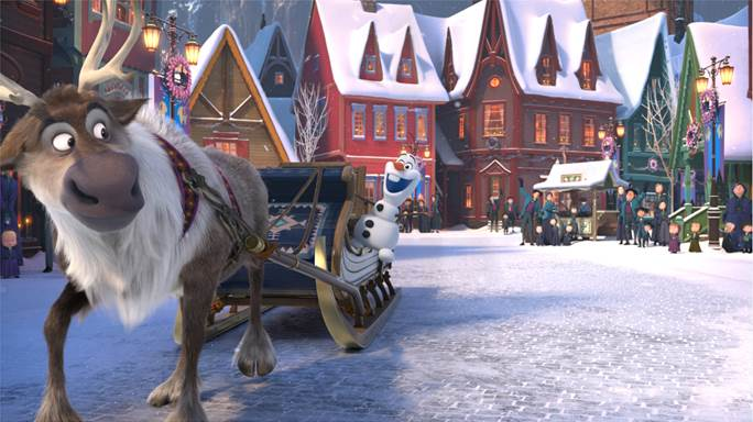 Olaf's Frozen Adventure Has Been Unwrapped And Will Leave You Feeling Warm Inside #OlafsFrozenAdventure