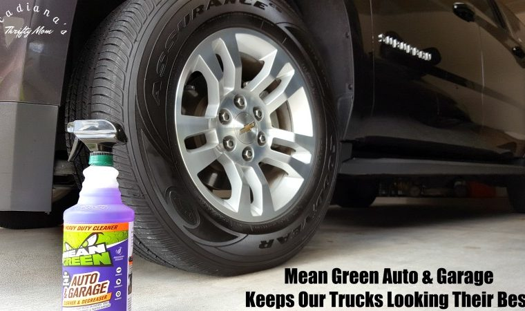 Mean Green Auto & Garage Keeps Our Trucks Looking Their Best #MeanGreen