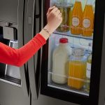 'Knock Twice' To Save Time And Money With The New LG Insatview Refrigerator From Best Buy #BestBuy