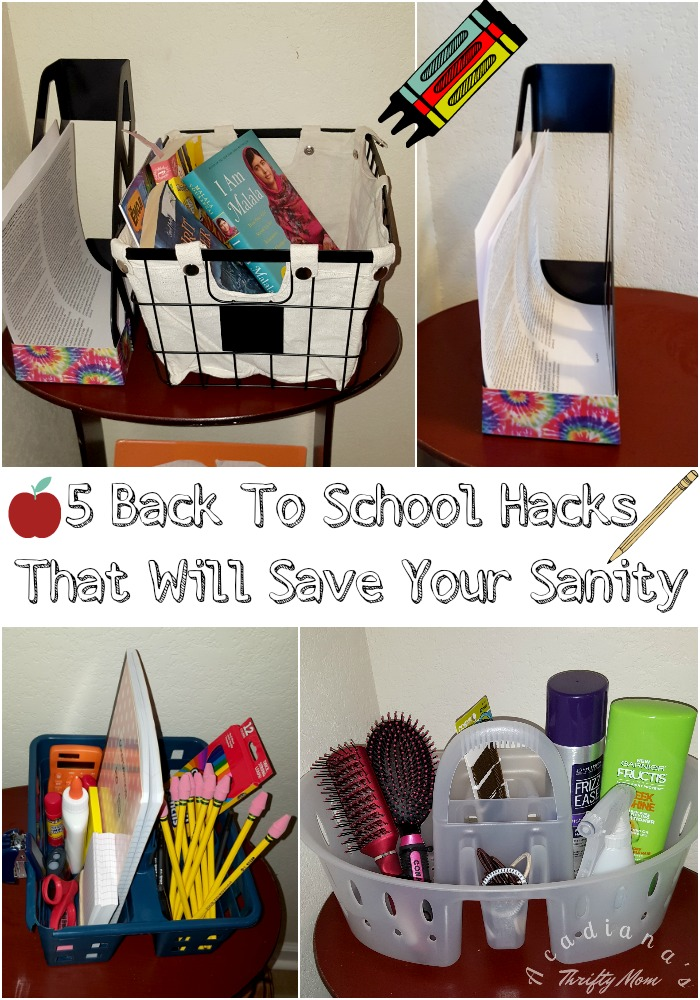 5 Back To School Hacks That Will Save Your Sanity #BackToSchool