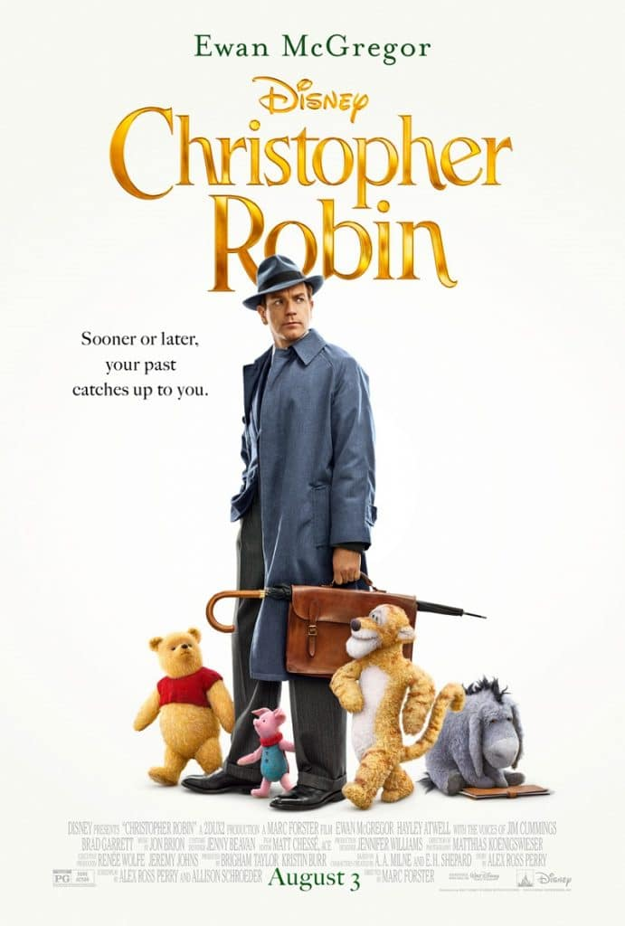 Think It Over Think It Under And Follow Me to The Christopher Robin Red Carpet
