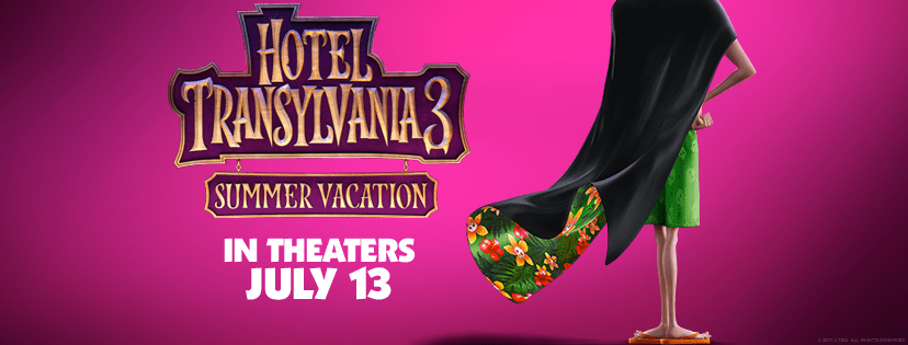 Win A Family 4 Pack Of Tickets To See Hotel Transylvania 3 In Harahan On July 7