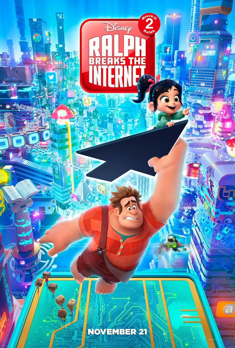 Hold On To Your Hats While Ralph Breaks The Internet With The New Wreck It Ralph 2 Poster And Trailer