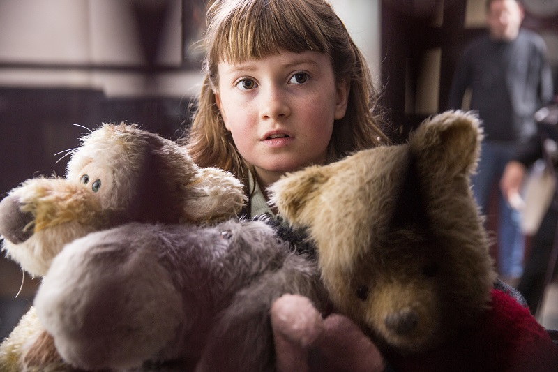 Talking Piglet and the Hundred Acre Wood With Disney's Christopher Robin's Bronte Carmichael